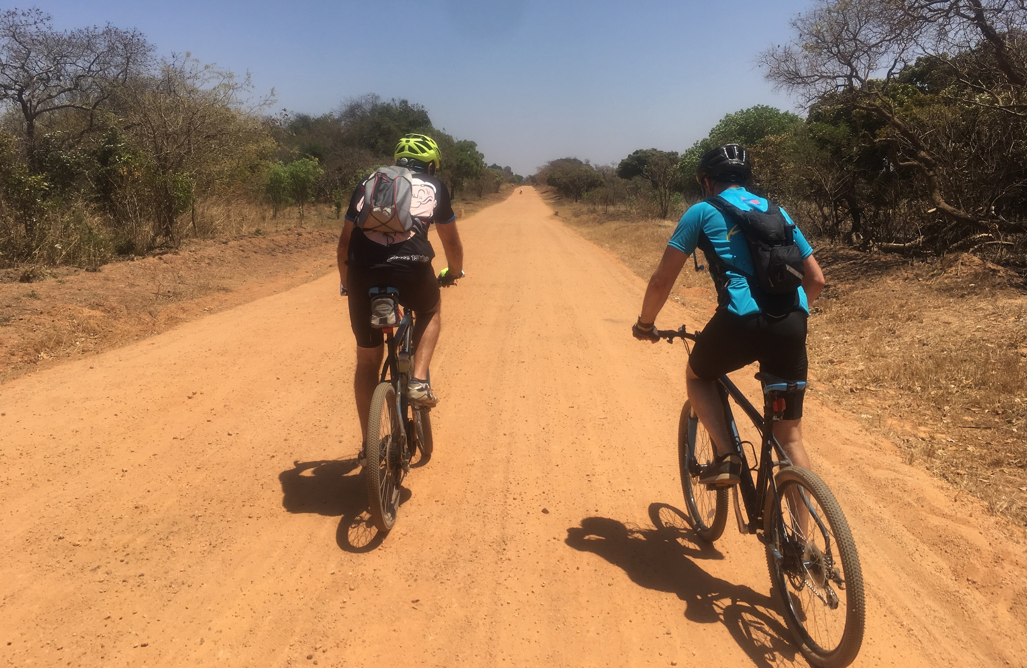 Lusaka to Victoria Falls Cycle