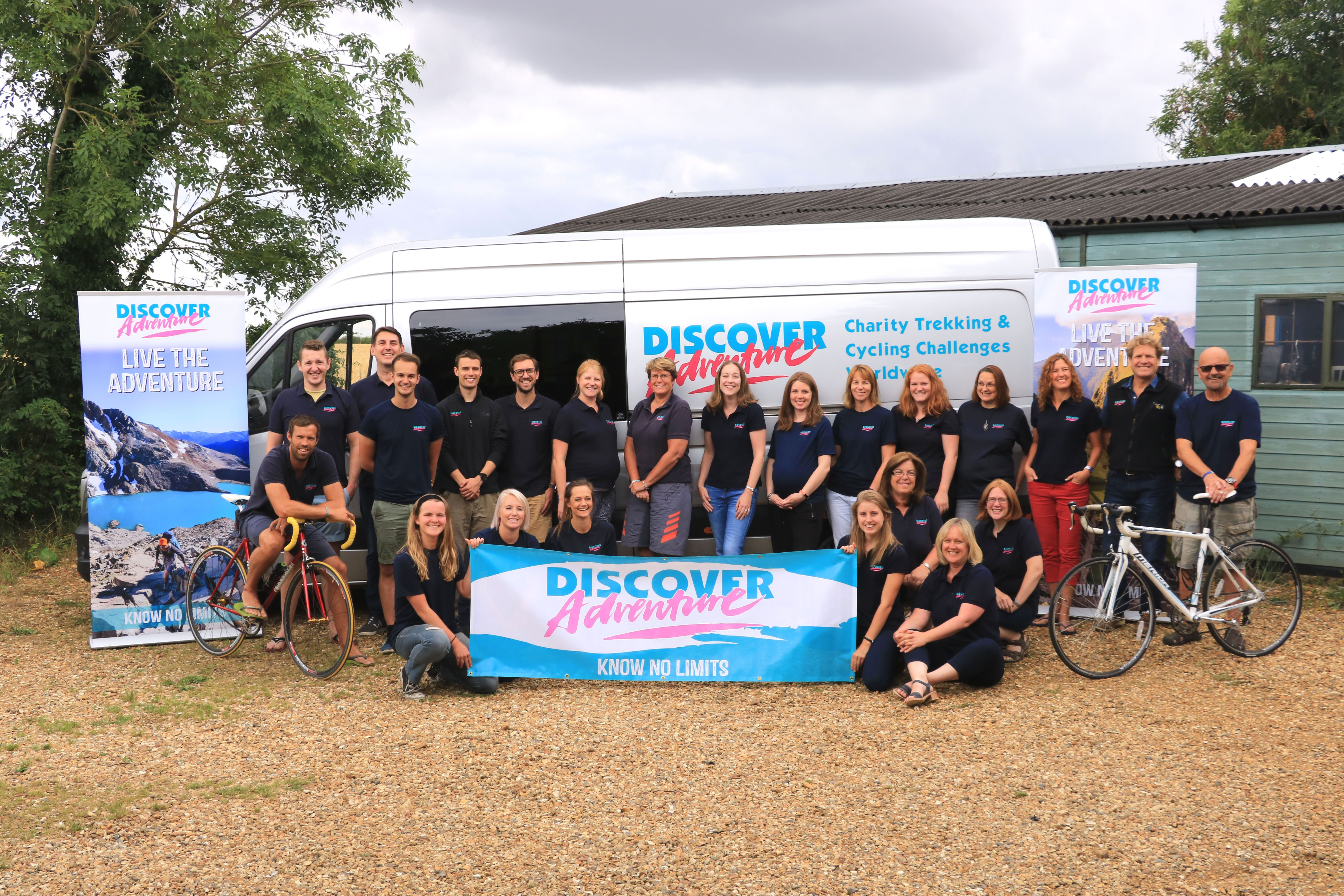 The Discover Adventure Office Team