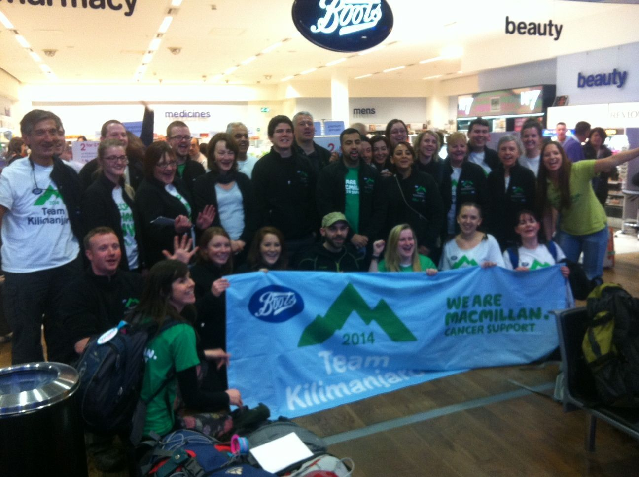 Boots for Macmillan