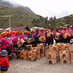 Clay stoves Queuna Raymi project