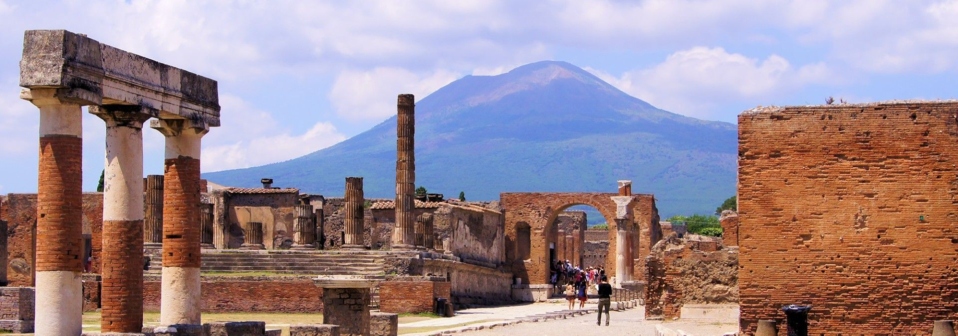 Image result for ruins of Pompeii at the foothills of Mount Vesuvius