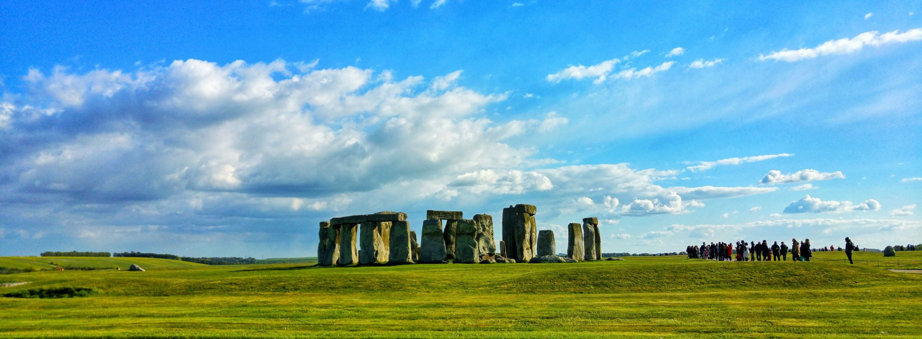 views across stonehenge