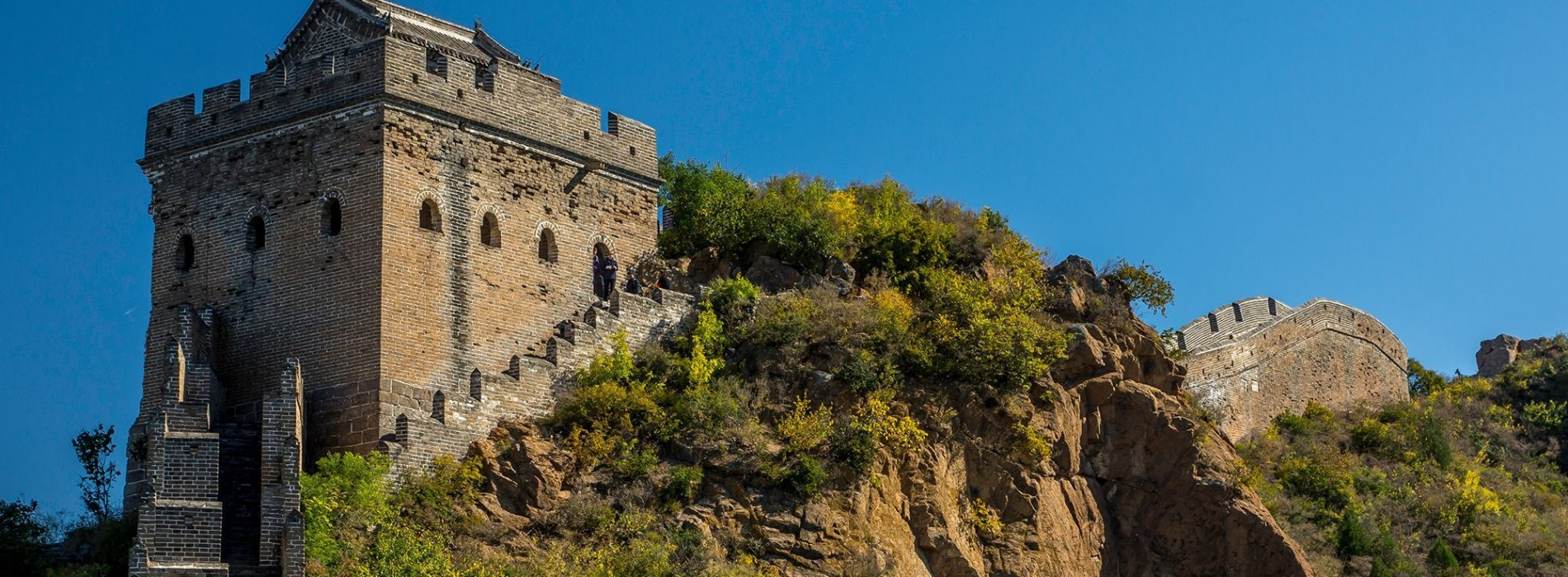 Lookout towers on the Great Wall of China