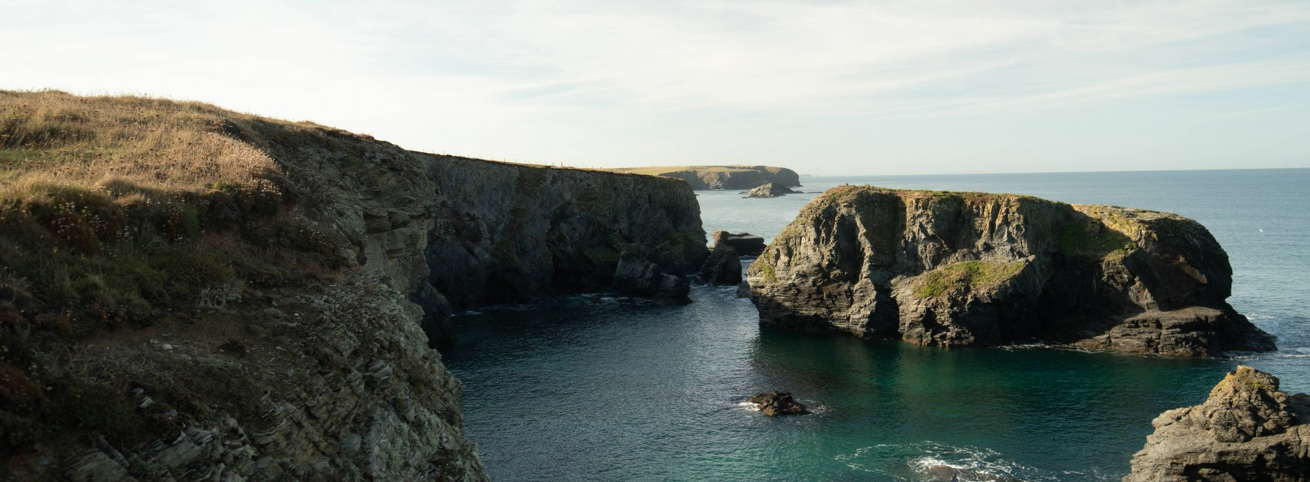 Clifftop Coastline - Cornish Coastal Challenge