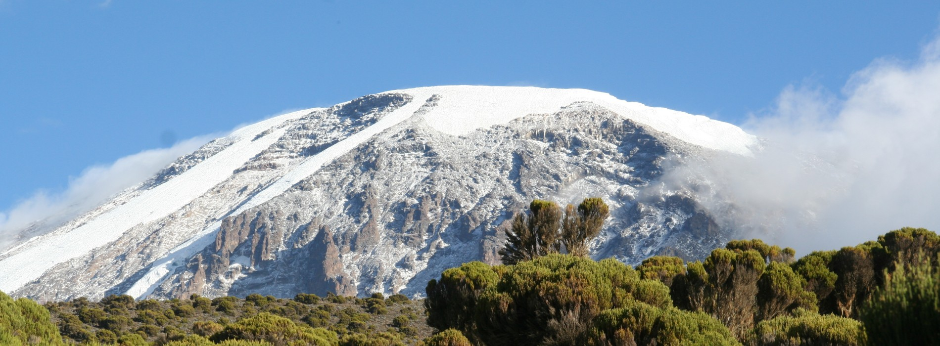 Great views of Mount Kilimanjaro