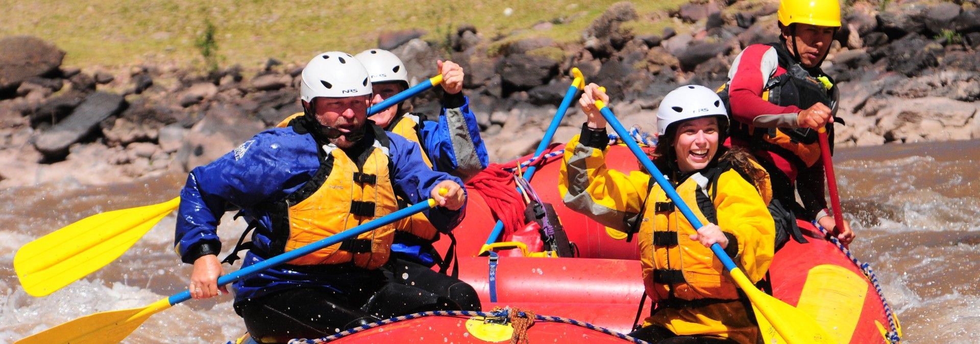White Water Rafting in Peru