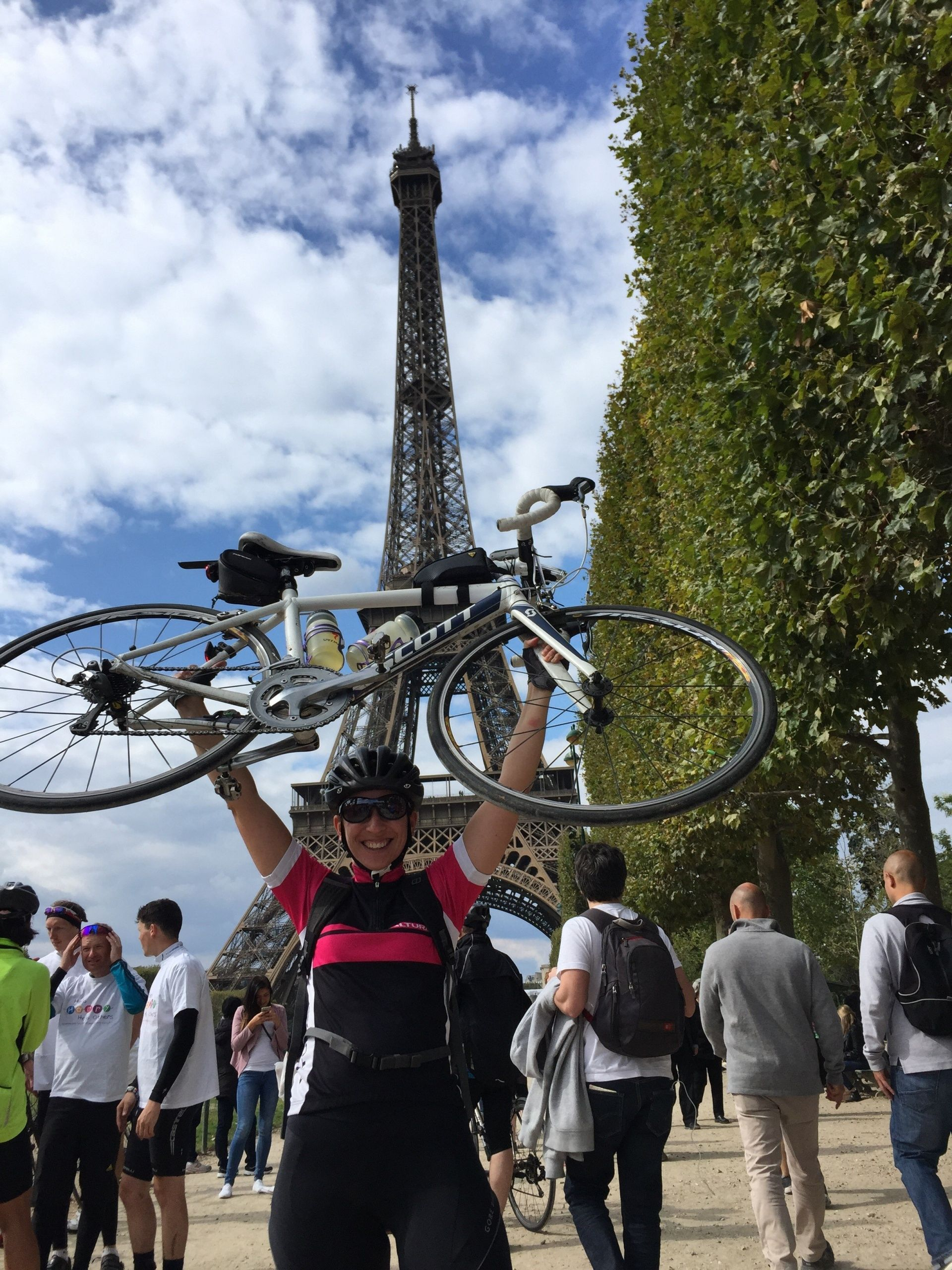 Busy Mum Claire Conquers London to Paris